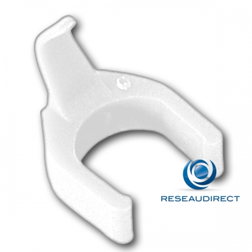 Patchsee Patchclip BL/PC Clip de repérage complémentaire Blanc pour Cordon RJ 45 lumineux Boite de 50