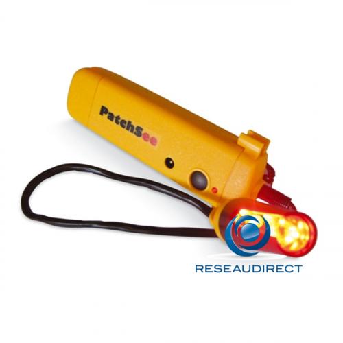 Patchsee PatchLight BL/PRO-PL injecteur Pro de lumière colorisée BLANCHE pour tout Cordon RJ 45 lumineux
