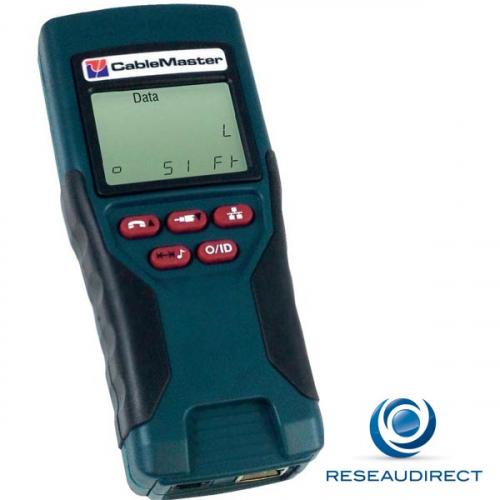 CableMaster CM400 Testeur de câblage Voix données video avec localisation de défauts