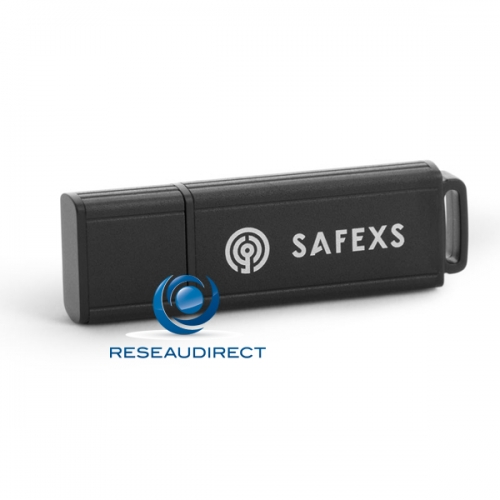 SafeXs Protector 3.0 16Go Clé stockage USB 3.0 Flash 16Gb Alu cryptée durcie chiffrage matériel sécurisée anti-virus auto-destruction