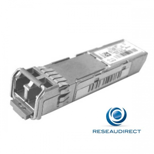 Cisco GLC-LX-SM-RGD Module SFP GE 1000Base-LX/LH 1000Mbs Monomode 1310nm 10km 2xLC avec DOM Durci (-40/+85°C)