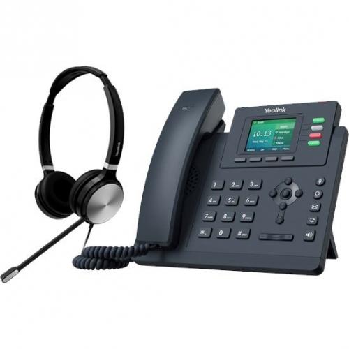 Bundle promo téléphone T33G + casque HS36 Stéréo
