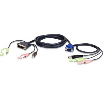 Câble KVM 2L-7Dx3U 3m