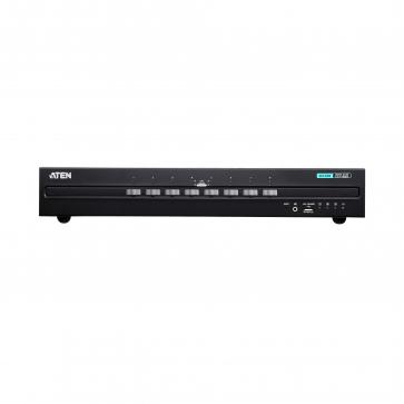 Switch KVM Secure 8 ports USB HDMI Dual Display