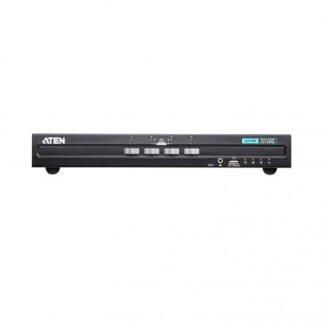 Switch KVM Desktop 4 ports DVI secure