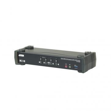 Switch KVMP MST Desktop 4 ports DP USB 3.0 4K
