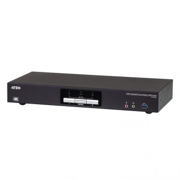 Switch KVM Desktop 2 ports Dual DisplayPort USB3.0