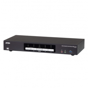 Switch KVM Desktop 4 ports Dual DisplayPort USB3.0