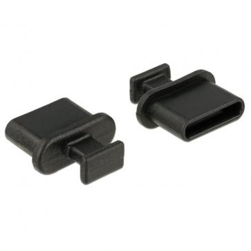 Obturateur de ports USB Type C Femelle avec grip