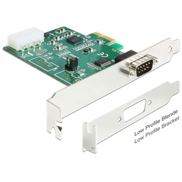 Carte PCI Express 1 RS232 High speed Alim POS