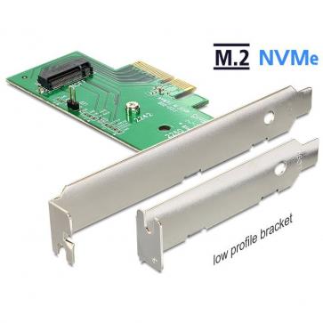 Delock DE89370 Carte PCI express 4x vers M.2 NVMe