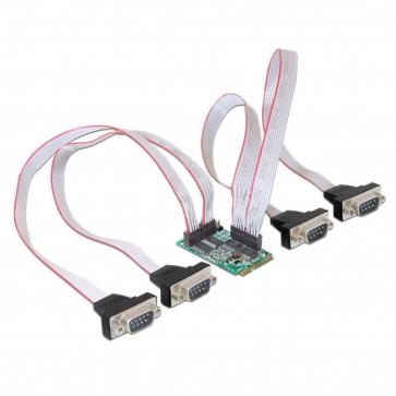 Carte Mini PCI Express 4 ports RS232