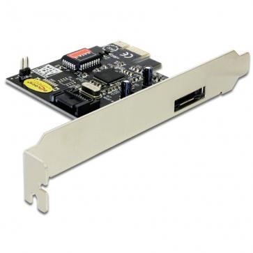 Delock PCIE-S2 Carte PCI Express Sata 3Gbps 1 interne + 1 externe