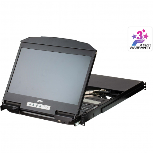 "Console KVM rackable LCD 18,5"" USB HDMI"