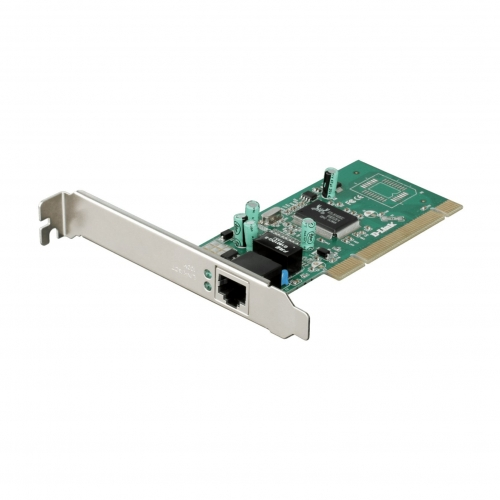 Carte Réseau PCI Gigabit Eco + Equerre Low-Profile