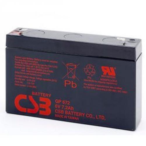 Batterie NITRAM GP672 6V/7AH