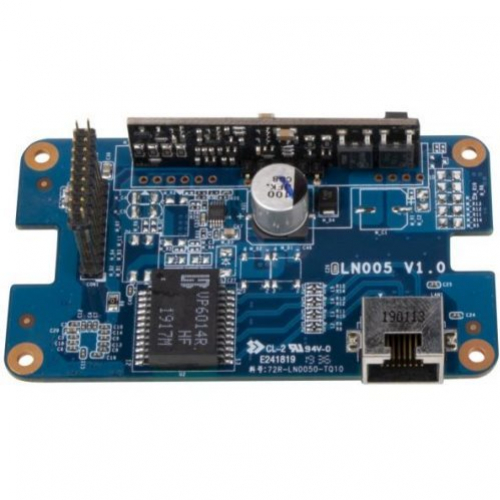 Carte 2eme LAN Gigabit + alimentation PoE IN