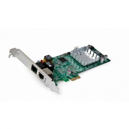 Carte PCI Express double Wan RJ45 + ADSL/VDSL2
