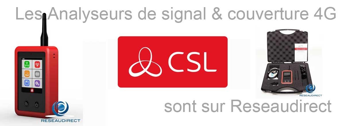 Pub Analyseur réseau signal 4G CSL